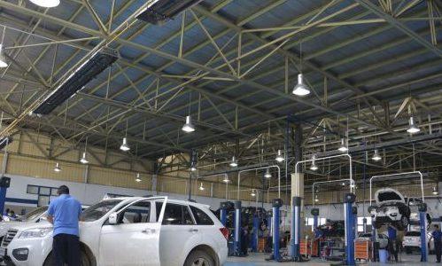 گرماتاب در سالن های صنعتی 10