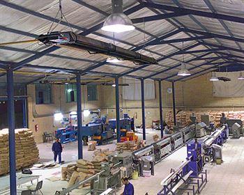 جنبه مدیریتی به کارگیری هیتر سقفی صنعتی گرماتاب