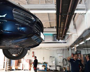 گرم-کننده های-تابشی-گرماتاب--تعمیرگاه های-خودرو