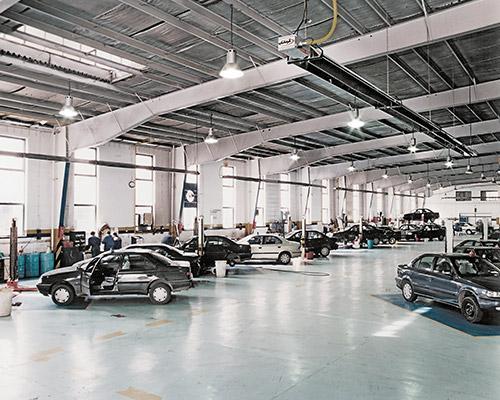 گرماتاب در تعمیرگاه های خودرو 6