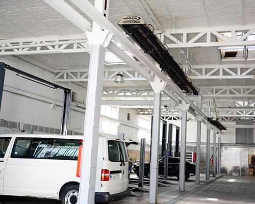 گرماتاب در تعمیرگاه های خودرو 5