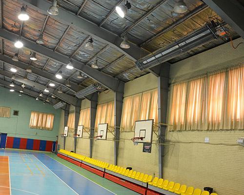 گرماتاب در سالن های ورزشی 5