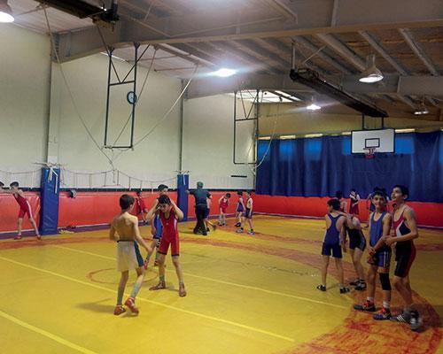 گرماتاب در سالن های ورزشی 4