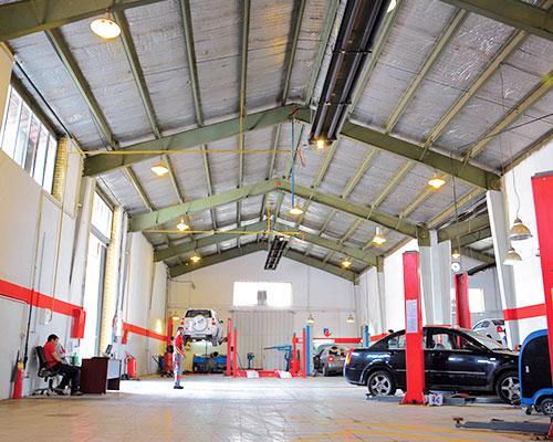 گرماتاب در تعمیرگاه های خودرو 2