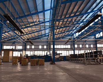 گرماتاب در سالن های صنعتی 3
