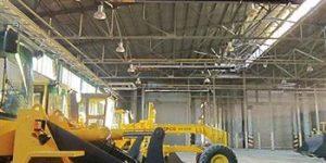 گرماتاب در سالن های صنعتی 6